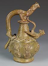 Chinese Chicken Head Vase