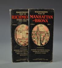 Two Hagstrom Maps of Manhattan