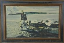 Framed Hunter Print