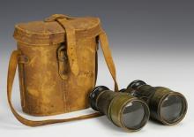 American Binoculars with Case