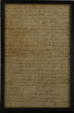 1779 Manuscript Land Grant