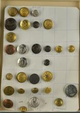 Military Buttons Estate Collection