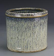 Chinese Jun Ware Brush Pot