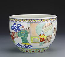 Chinese Wucai Pot