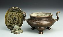 Three Chinese Antique Pieces