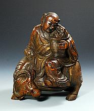 Chinese Bamboo Figure