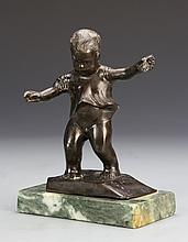 Miniature Bronze of Boy