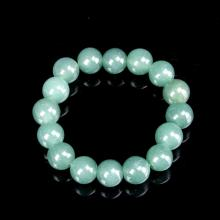 Chinese Jadeite Beaded Bracelet