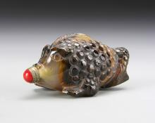 Chinese Agate Snuff Bottle