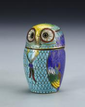 Chinese Cloisonne Miniature Jar