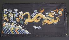 Chinese Silk Embroidery Dragon