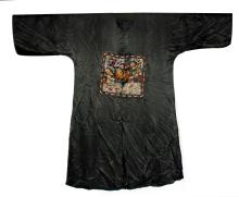 Chinese Silk Robe with Rank Badges