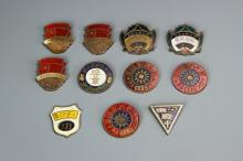 Chinese Group of Badges