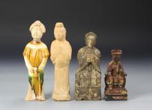 Four Chinese Figures