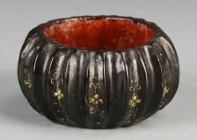 Chinese Antique Lacquer Water Pot