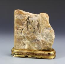 Two Chinese Soap Stone Carvings