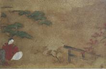 Two Korean Framed Watercolor