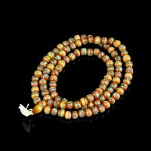 Wax Beaded Necklace