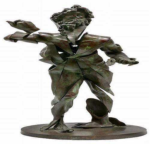 Arman 1928~2005) TITLE: Zeus God of Featurism