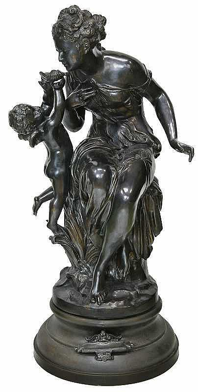 Mathurin Moreau(1822-1912)   ANGE ET VENUS