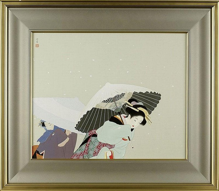 ARTIST: Shoen Uemura TITLE: THE FLEECES OF FALLING