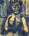 Georges Rouault(1871-1958) THE GIRL OF CIRCUS