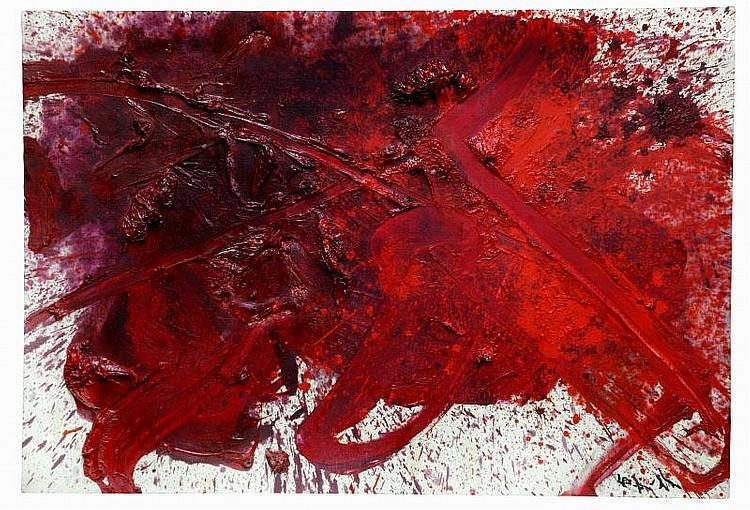 ARTIST: Kazuo Shiraga (1924-? TITLE: Kanesada