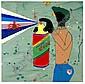 ARTIST: Kawai Misaki(1978-) TITLE: Go Away Poi Poi
