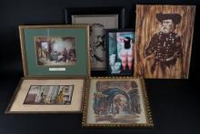 Box Lot of Six (6) Various Prints. Shipping $120.00