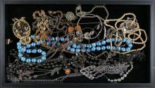 Miscellaneous Lot of Costume Jewelry and Accessories. Shipping $20.00