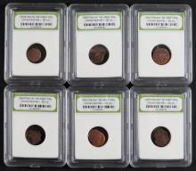 Lot of Six (6) Constantine the Great Era Roman Empire Coin. Circa 330AD. In Plastic Holder Slabbed by International Numismatic Bureau. Slab Measures 3-1/4 Inches by 2-1/2 Inches. Shipping $20.00