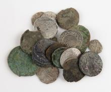 Collection of Nineteen (19)  Medieval Coins. Eight (8) are Silver. Shipping $20.00