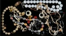 Tray Lot of Costume Jewelry. Shipping $20.00