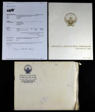 Lyndon Baines Johnson (1908-1973) 1965 Official Inaugural Program. Good Condition. Measures 11 Inches by 8-3/8 Inches. Shipping $20.00