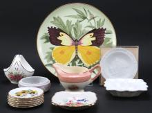 Box Lot of Porcelain Items. Shipping $45.00