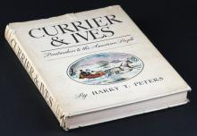Currier & Ives: Printmakers to the American People by Harry T. Peters Hard Cover Book. Good Condition. Shipping $25.00