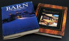 Two (2) Coffee Table Hard Cover Books with Dust Jackets. Books Include: Barn, The Art of a Working Building and The MegaYachts Volume Nine 2008. Good Condition. Measures 12-1/4 Inches by 9-1/8 Inches. Shipping $28.00