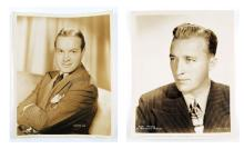 Bing Crosby and Bob Hope Movie Star Studio Photo. Paramount Pictures, Inc. Circa 1938 and 1945. Measures 8 Inches by 10 Inches. Shipping $20.00