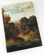 The Hudson River School American Landscape Artists Hardcover Book by Bert D. Yaeger. Smithmark Publishers 1996. Measures 13 Inches by 9-1/2 Inches. Shipping $20.00