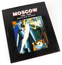 Moscow 1900-1930 Hardcover Book Edited by Serge Fauchereau. Mallard Press 1988. Measures 10-1/2 Inches by 9 Inches. Shipping $20.00