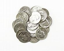 Twenty (20) 1940s-1960s U.S. Silver Liberty Quarter Dollars. These Coins are NOT Professionally Graded, We DO NOT Grade Coins, Please See Photos and/or Information to Make your Own Value Judgment as to the Condition of this Coin. Shipping $20.00