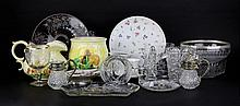 Box Lot of Porcelain and Glass Items. Please Examine This Lot Carefully Before Bidding. We are Selling This Lot in