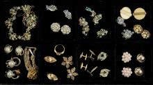 Box Lot of Miscellaneous Costume Jewelry. Shipping $20.00