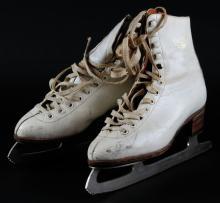 Pair of Vintage Hotas Ladies Ice Skates, Size 24-1/2 European Size. Good Used Condition. Shipping $25.00