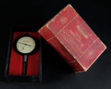 Vintage L.S. Starrett No. 25-441 Jeweled Dial Test Indicator Gauge With Box. Good Condition. Measures 4-1/2 Inches. Shipping $20.00