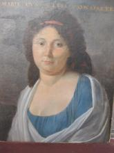 Marie Elysa Bonaparte, sister of Napoleon, oil painting