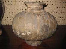 Chinese Han Dynasty gray pottery Cocoon Jar 206BC-220AD