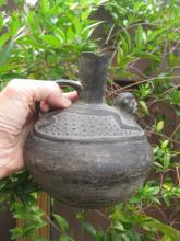 Pre-Columbian potterry Monkey Vessel, Chimu 900-1470 AD