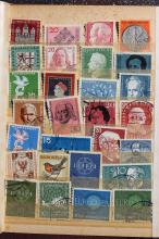 Collection of 28 used German stamps, Europa, Germany