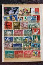 Collection of 29 used German stamps